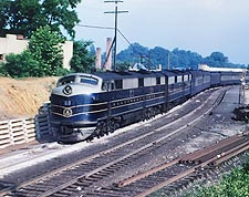 B&O Railroad E-7AB Train  Photo Print for Sale