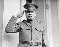 Babe Ruth in National Guard Uniform Photo Print for Sale