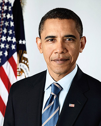 Barack Obama Official Presidential Portrait Photo Print