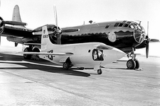 Bell X-1-2 on Ramp w/ Boeing B-29 Photo Print