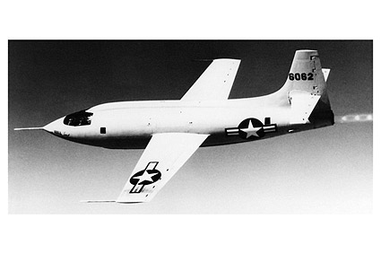 Bell X-1 Chuck Yeager Sound Barrier Photo Print