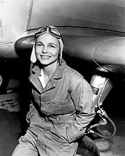 Betty Gillies First Flight Checked Woman Photo Print for Sale
