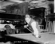 Billiards Champion Jacob Schaefer, Jr. 1923 Photo Print for Sale