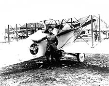 Billy Mitchell w/ Vought VE-7 Bluebird Photo Print for Sale