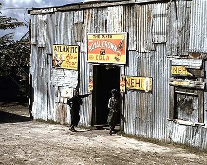 Black Migrant Workers at Juke Joint 1941 Photo Print