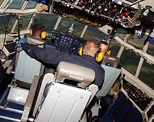 Blue Angels C-130 Fat Albert Cockpit Photo Print for Sale