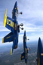 Blue Angels Vertical Climb Photo Print for Sale