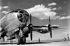 Boeing B-29 Super Fortress Bomber Close-Up Photo Print