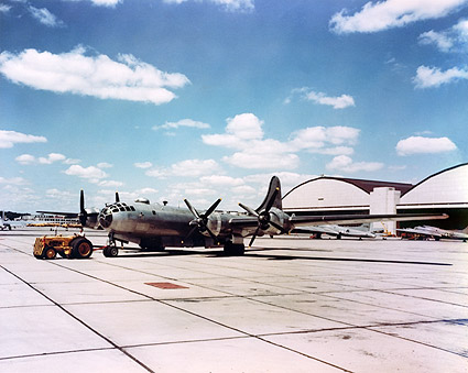 Boeing B-29 Super Fortress Color Photo Print