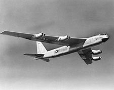 Boeing YB-52 / B-52 in Flight Photo Print for Sale
