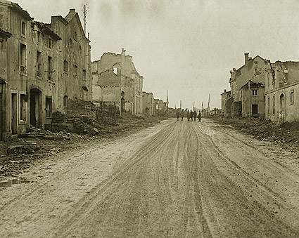 Bombed Village of Étain in France WWI  Photo Print