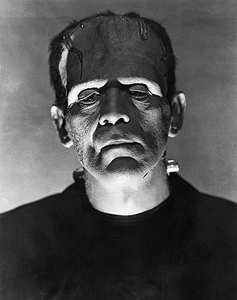 Boris Karloff in 'Bride of Frankenstein' 1935 Photo Print