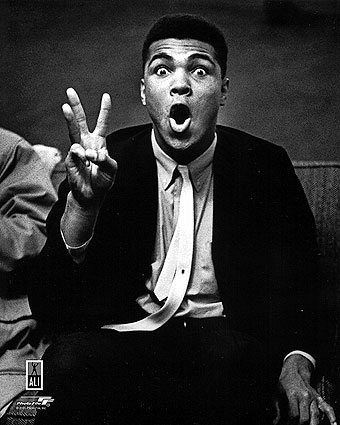 Boxer Muhammad Ali Clowning Around Portrait Photo Print