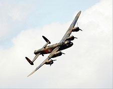 British Lancaster Bomber WWII Aircraft  Photo Print for Sale