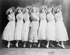 Burlesque Theater Canary Cottage Women Photo Print for Sale