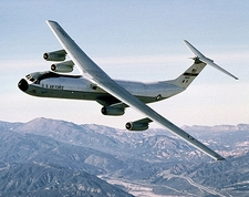 C-141 Starlifter in Flight US Air Force Photo Print