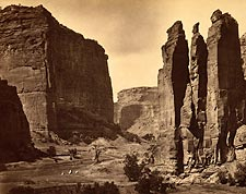 Ca�on de Chelle in Grand Canyon 1873 Photo Print for Sale