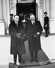 Calvin Coolidge and Herbert Hoover Photo Print for Sale