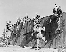 Camp Edwards, MA. Wall Training WWII Photo Print for Sale