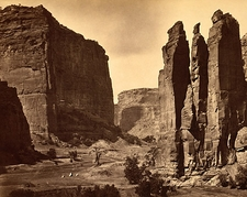 Canyon de Chelle NM Timothy O'Sullivan 1872 Photo Print