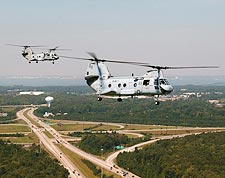 CH-46 / CH-46D Sea Knight Helicopters HC-8 Photo Print for Sale