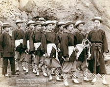 Champion Chinese Hose Team of America 1888 Photo Print for Sale