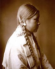 Cheyenne Belle Edward S. Curtis Portrait Photo Print for Sale