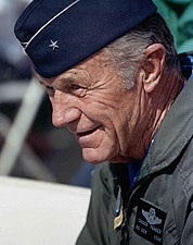 Chuck Yeager Portrait Photo Print for Sale
