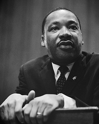 Civil Rights Leader Martin Luther King Jr. Photo Print