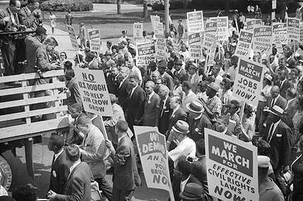 Civil Rights March Washington D.C. 1963 Photo Print