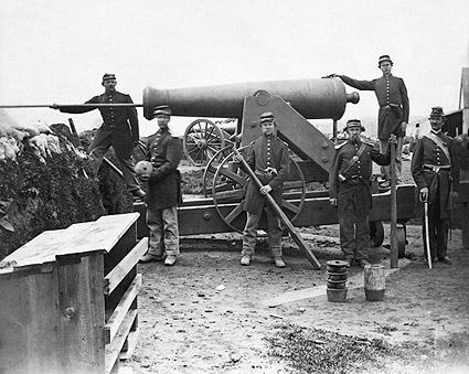 Civil War 4th NY Heavy Artillery Siege Gun Photo Print