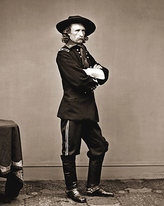 Civil War General George Custer Portrait Photo Print