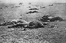 Civil War Harvest of Death at Gettysburg Photo Print for Sale