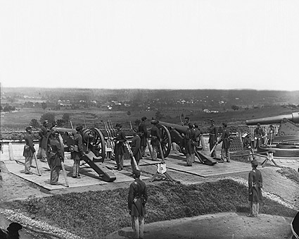 Civil War Heavy Artillery Fort Lincoln 1865 Photo Print