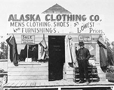 Clothing Store Anchorage Alaska Early 1900s Photo Print for Sale