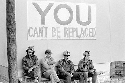 Coal Miners Union You Cant Be Replaced Photo Print