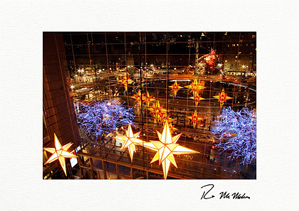 Columbus Circle New York City Boxed Christmas Cards