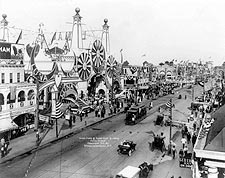 Coney Island Luna Park Entrance 1912 Photo Print for Sale