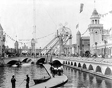 Coney Island New York Luna Park 1904 Photo Print for Sale
