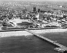 Coney Island Pier, New York City 1936 Photo Print for Sale