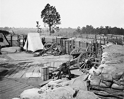 Confederate Fort Atlanta Barnard Civil War Photo Print