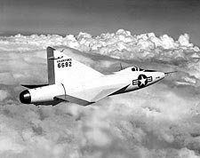 Convair XF-92 Dart in Flight Photo Print for Sale