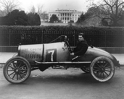 Cootie Race Car, Washington, D.C. 1922 Photo Print