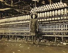 Cotton Mill Child Labor VA Lewis Hine 1911 Photo Print for Sale