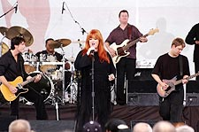 Country Singer Wynonna Judd Pentagon Photo Print for Sale