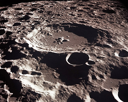 Craters on the Far side of the Moon NASA Photo Print