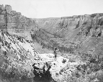 Crow Indian Black Canyon Colorado 1905 Photo Print