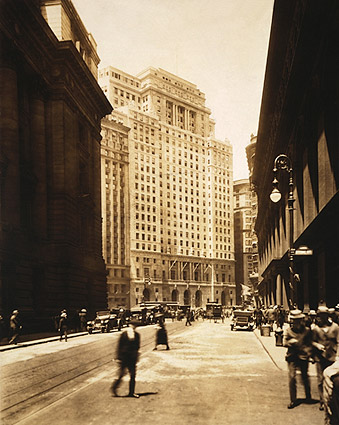 Cunard Building, New York City 1921 Photo Print