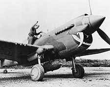 Curtiss P-40 Warhawk WWII Aircraft Photo Print for Sale