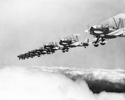 Curtiss P-6 Flying Formation Photo Print